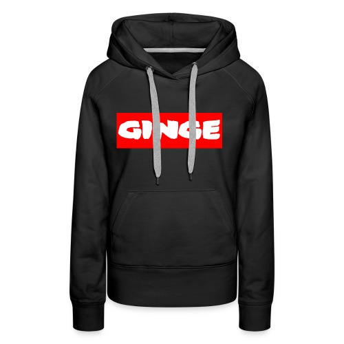 GINGE RED - Women's Premium Hoodie
