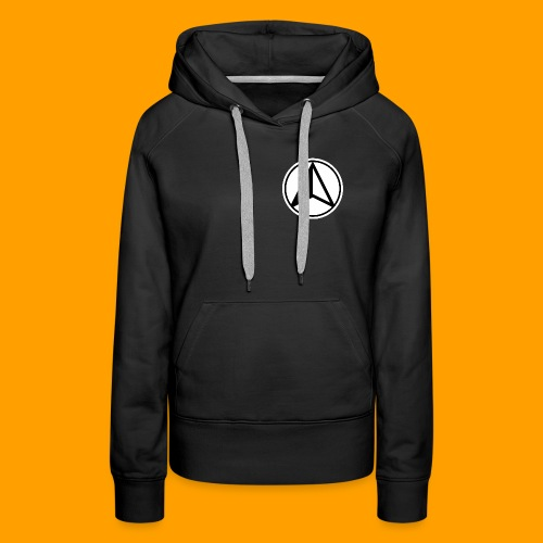 Black and White logo - Women's Premium Hoodie