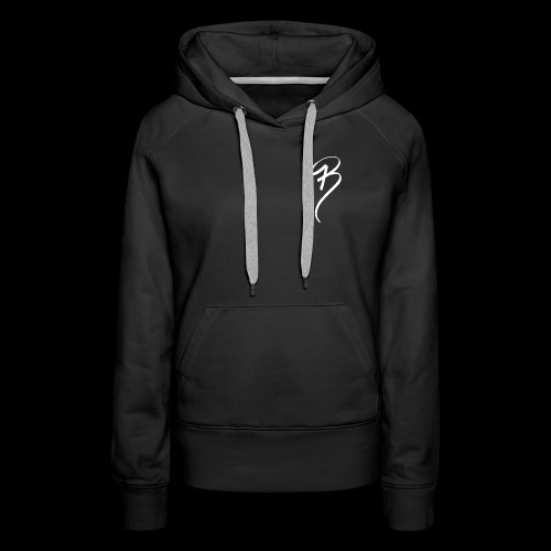 BRAND CLOTHING WHITE - Women's Premium Hoodie