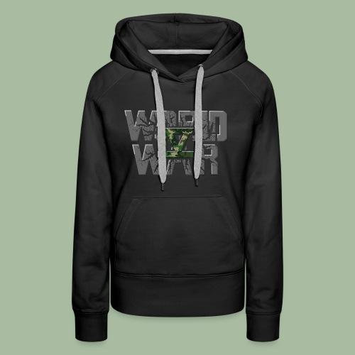 World War 4 - Sweat-shirt à capuche Premium pour femmes