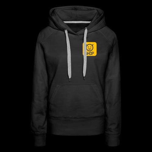 Logo BLDG SHOP n°2 - Sweat-shirt à capuche Premium pour femmes