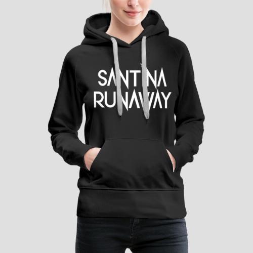 DJ Santina Runaway - Logo - Women's Premium Hoodie