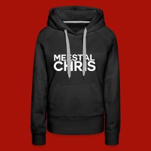 MeestalChris Logo shirt - Vrouwen Premium hoodie