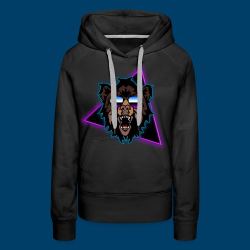 Grizzly 80's - Women's Premium Hoodie
