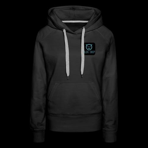 BLDG Shop Logo n°1 - Sweat-shirt à capuche Premium pour femmes