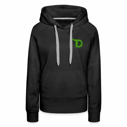 TeamDino's Green Logo - Women's Premium Hoodie