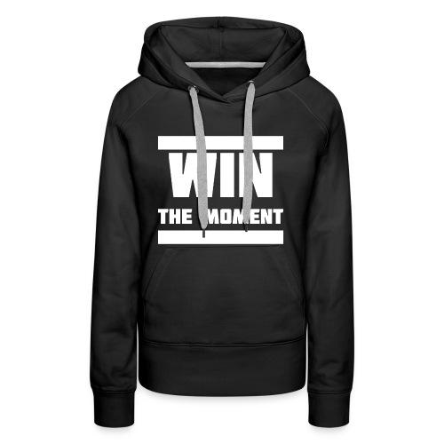 Win the moment Motiv/Weiß - Frauen Premium Hoodie