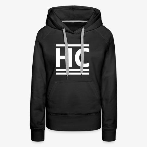 White Horizon Clothing Logo - Women's Premium Hoodie
