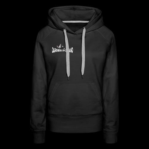 DoD Darkness on Demand Cat - Frauen Premium Hoodie