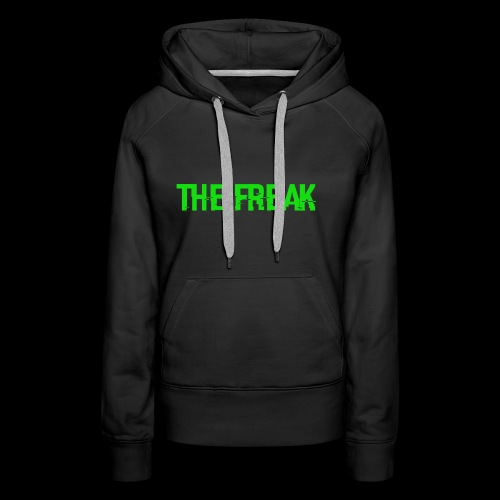The Freak - Dame Premium hættetrøje