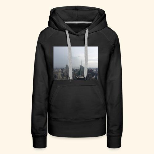 New York City view - Frauen Premium Hoodie