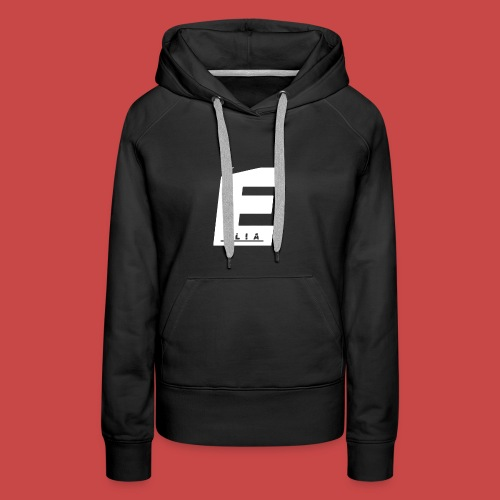 Elia Logo - Weiß - Frauen Premium Hoodie