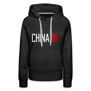 China #1 (White) - Women's Premium Hoodie