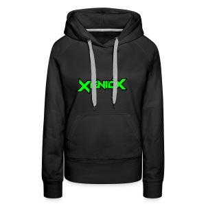 Xeniox Logo - Women's Premium Hoodie