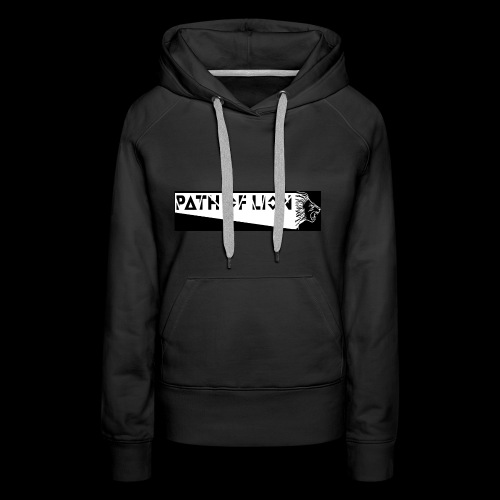 Path_of_Lion - Frauen Premium Hoodie