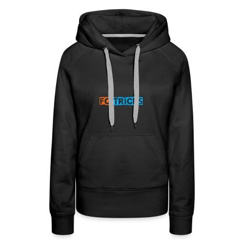 Fctricks reeks 2 - Vrouwen Premium hoodie