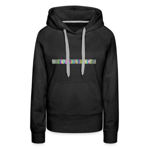 LE DESSIN DE LA #TEAMNEYTROZZ SUR YOUTUBE - Sweat-shirt à capuche Premium pour femmes