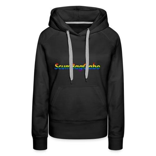 ScumBagGabe Multi Logo XL - Women's Premium Hoodie