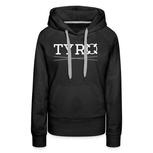 Tyro Logo weiß - Frauen Premium Hoodie