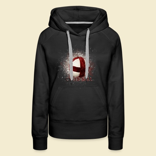 Radball | Cycle Ball - Frauen Premium Hoodie