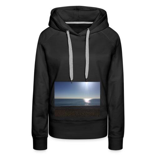 Sonne,Meer,Strand,Freiheit,Geschenk,Geschenkidee - Frauen Premium Hoodie