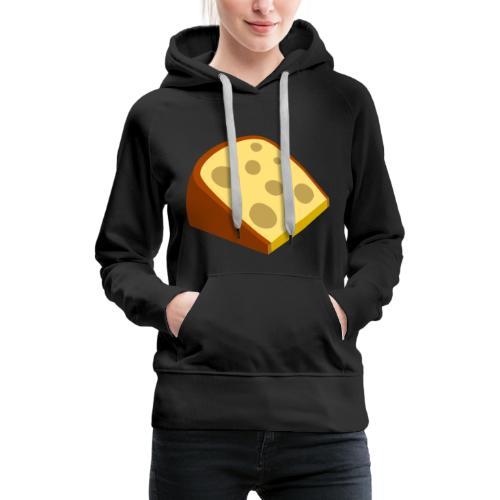 cheese - Frauen Premium Hoodie