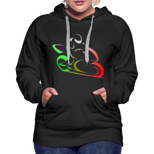 Biker - Frauen Premium Hoodie