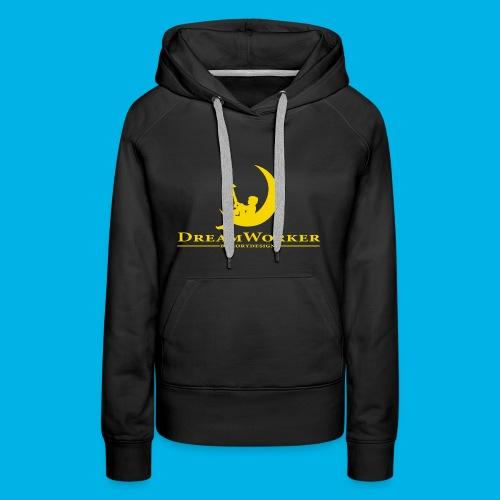 DreamWorker - Uomo - Felpa con cappuccio premium da donna