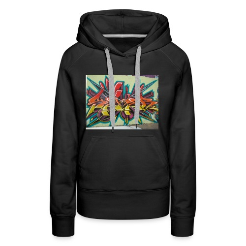 free graffiti wallpaper 1 - Frauen Premium Hoodie