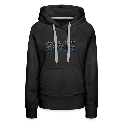 SilViG logo limited - Dame Premium hættetrøje