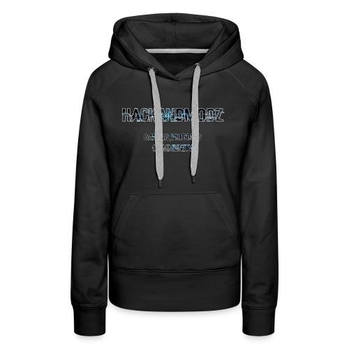 HackandModz--Goodies - Sweat-shirt à capuche Premium pour femmes