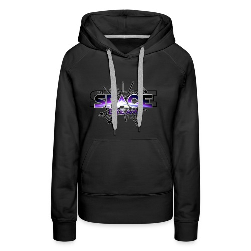 SPACE DREAM - Sweat-shirt à capuche Premium pour femmes
