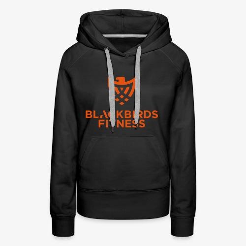 Blackbirds Fitness Logo orange - Frauen Premium Hoodie