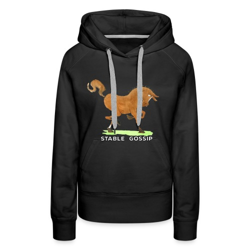 Stable Gossip by Joanna Fisher - Women's Premium Hoodie
