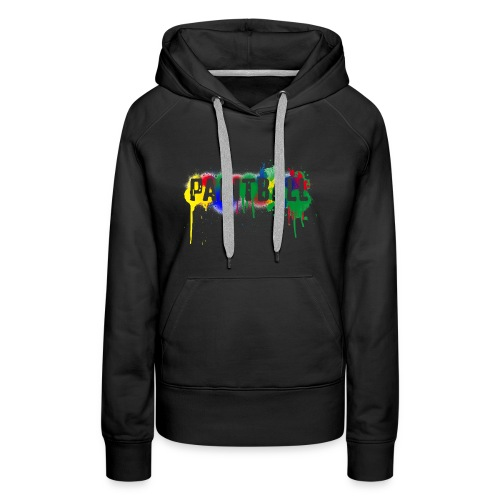 color_paintball - Frauen Premium Hoodie