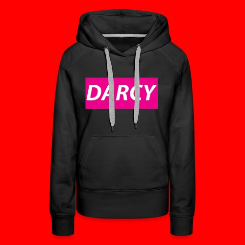 DARCYWpink - Women's Premium Hoodie