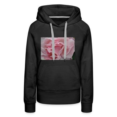 Water Droplet Rose - Women's Premium Hoodie