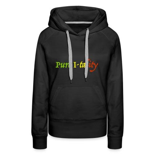 Pure I-tality - Women's Premium Hoodie