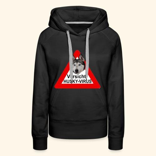huskyvirus 1 - Frauen Premium Hoodie