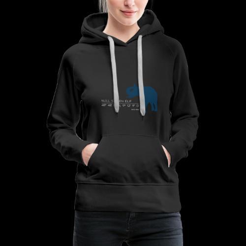 Wilhelma Elefant2 - Frauen Premium Hoodie