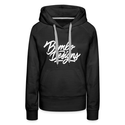 bembo_designs_white - Women's Premium Hoodie