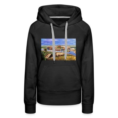 photo - Sweat-shirt à capuche Premium pour femmes