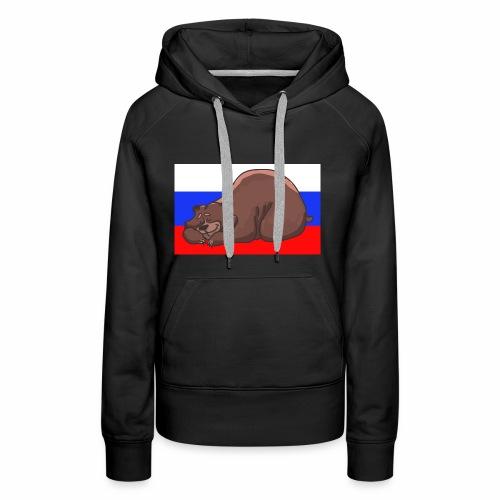 Russian Bear - Frauen Premium Hoodie