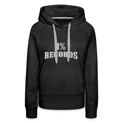 1 Prozent Records Logo - Frauen Premium Hoodie