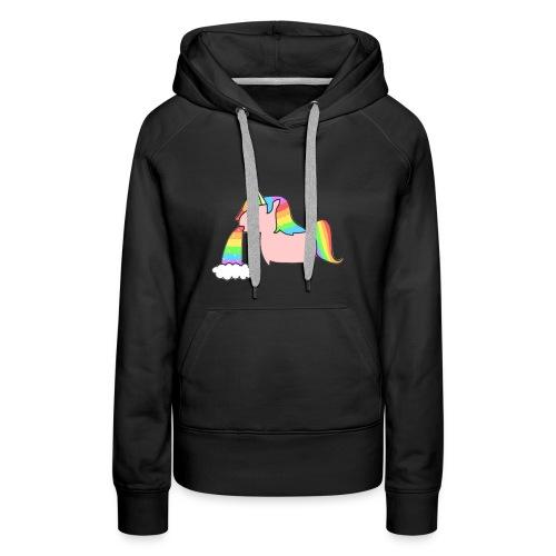 unicorn - Vrouwen Premium hoodie