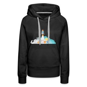 XRP Crypto To the moon and beond! - Women's Premium Hoodie