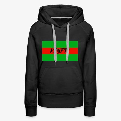 KRYPTX 2 - Sweat-shirt à capuche Premium pour femmes