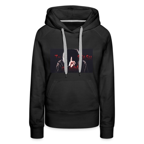 Hooded T-Stash Wide - Women's Premium Hoodie