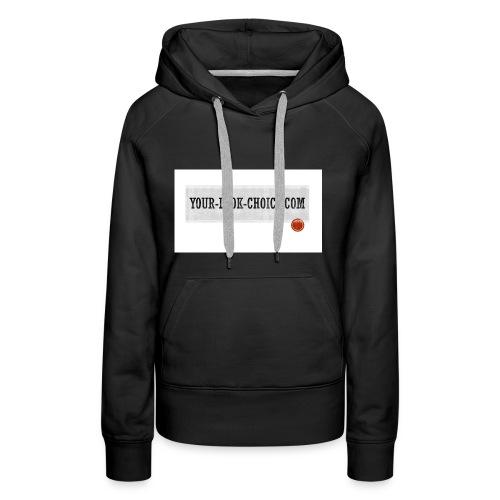 your-look-choice.coom - Sweat-shirt à capuche Premium pour femmes