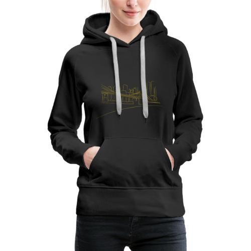 Brooklyn Bridge - Sweat-shirt à capuche Premium pour femmes